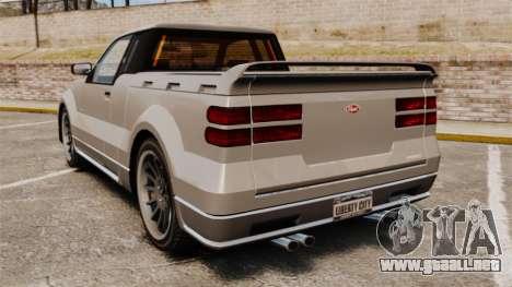 Nuevo contendiente para GTA 4 Vista posterior izquierda