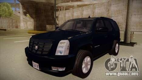 Cadillac Escalade 2011 Unmarked FBI para GTA San Andreas