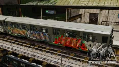 Nuevo graffiti en el metro v1 para GTA 4 segundos de pantalla