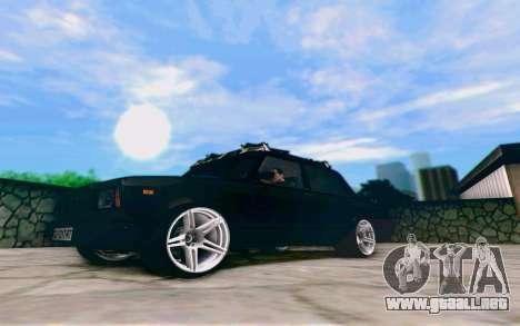 VAZ 2107 Riva para GTA San Andreas left