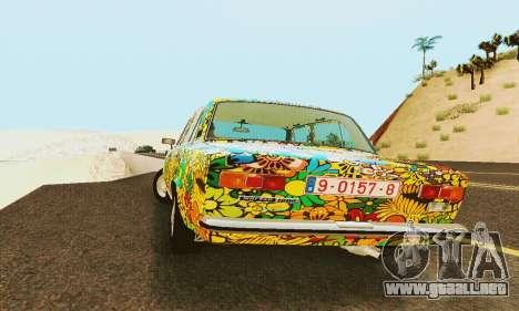 VAZ 21011 Hippie para visión interna GTA San Andreas