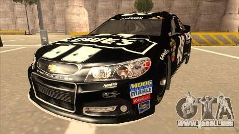 Chevrolet SS NASCAR No. 48 Kobalt Tools para GTA San Andreas