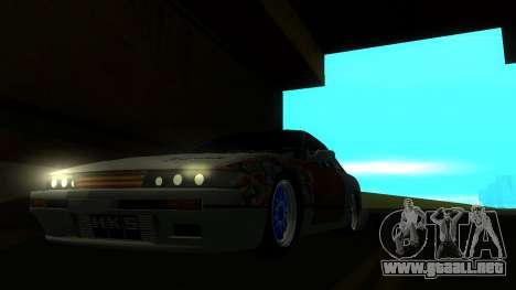 Nissan Silvia S13 MGDT para la visión correcta GTA San Andreas