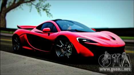 McLaren P1 2014 para la visión correcta GTA San Andreas