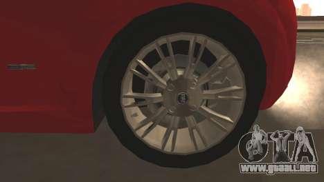 Fiat Grande Punto para vista inferior GTA San Andreas