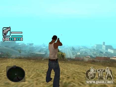Hud by Larry para GTA San Andreas segunda pantalla