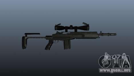 Fusil automático M14 EBR v2 para GTA 4 tercera pantalla