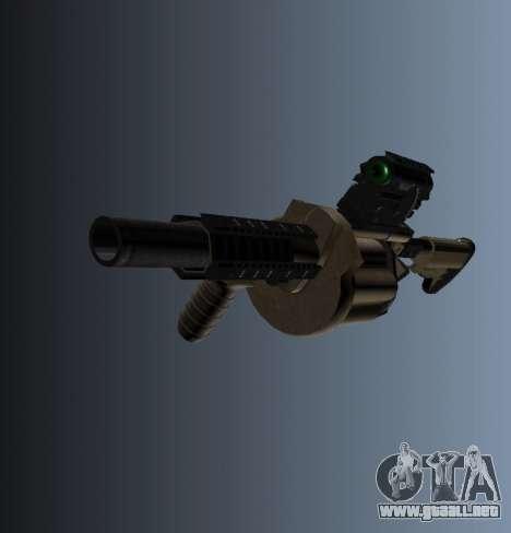 Lanzador de granadas MGL-MK1 para GTA 4