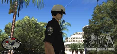 Los Angeles Air Support Division Pilot para GTA San Andreas tercera pantalla