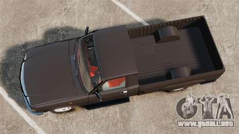 GAZ-3110 Pickup para GTA 4 visión correcta