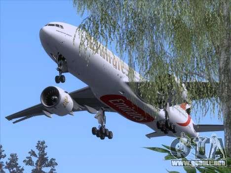 Boeing 777-21HLR Emirates para GTA San Andreas