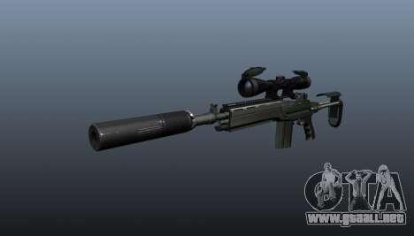 Fusil automático M14 EBR v1 para GTA 4
