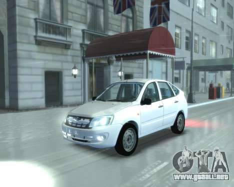 Lada Granta Hatch - VAZ 2191 para GTA 4