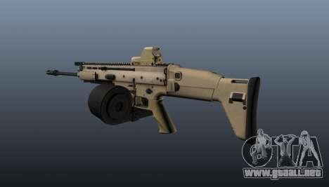 FN SCAR-H ametralladora LMG para GTA 4 segundos de pantalla