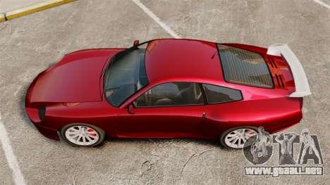 Cometa clásico para GTA 4 Vista posterior izquierda