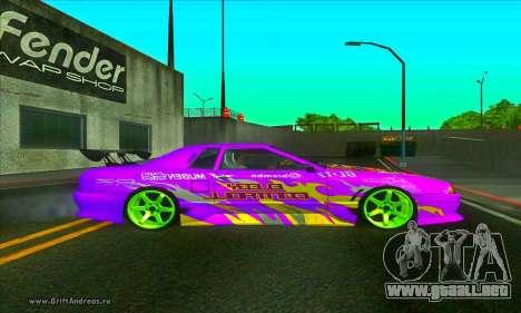 Elegy DC v2 para GTA San Andreas left