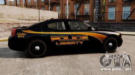 Dodge Charger 2008 LCPD Slicktop [ELS] para GTA 4 left