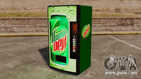 Nuevas máquinas expendedoras de refrescos para GTA 4