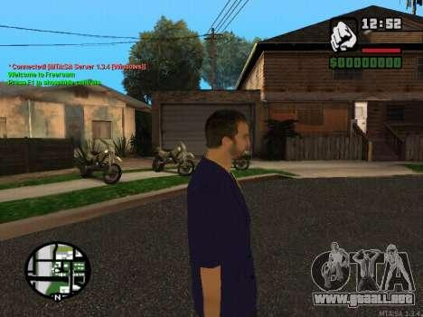 New Andre para GTA San Andreas segunda pantalla