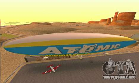 Zepellin GTA V para la visión correcta GTA San Andreas