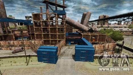 Una base defensiva para GTA 4