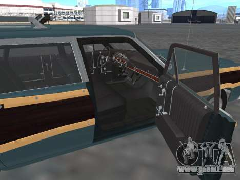 Ford Country Squire 1966 para vista lateral GTA San Andreas