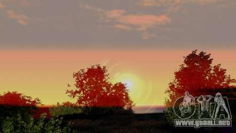 Caligraphic ENB v1.0 para GTA San Andreas tercera pantalla