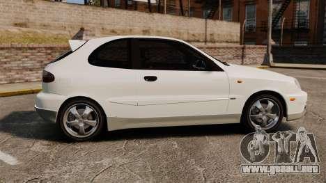 Daewoo Lanos GTI 1999 Concept para GTA 4 left