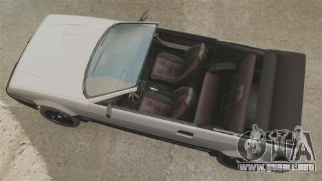 La versión convertible del Blista para GTA 4 visión correcta
