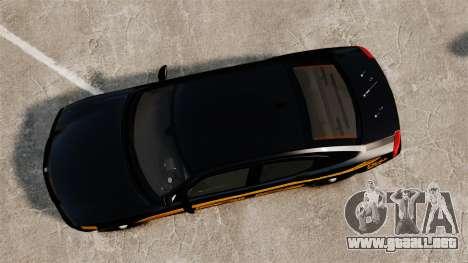 Dodge Charger 2008 LCPD Slicktop [ELS] para GTA 4 visión correcta