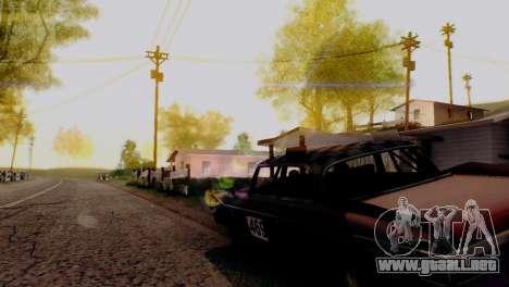 Caligraphic ENB v1.0 para GTA San Andreas sucesivamente de pantalla