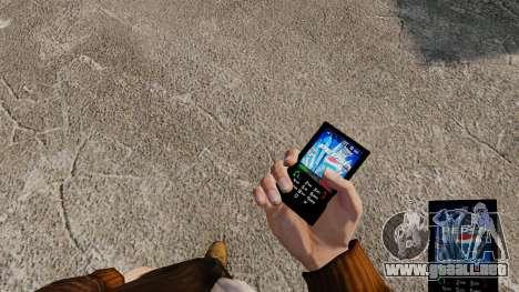 Temas para teléfono marcas bebidas para GTA 4 tercera pantalla