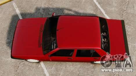 Tofas Dogan SL-X para GTA 4 visión correcta