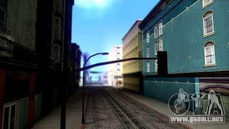 ENBSeries by egor585 V3 Final para GTA San Andreas sucesivamente de pantalla