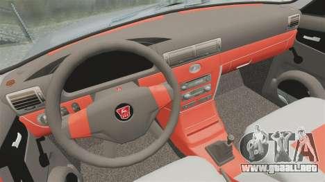 GAZ-3110 Pickup para GTA 4 vista lateral