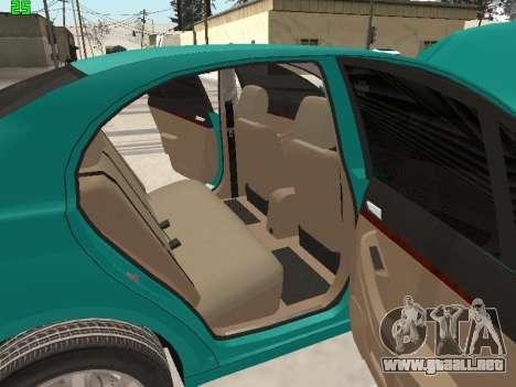 Toyota Avensis 2.0 16v VVT-i D4 Executive para la vista superior GTA San Andreas