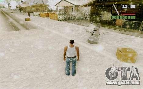 Regla de acero para GTA San Andreas quinta pantalla
