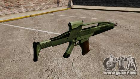 HK XM8 assault rifle v1 para GTA 4 segundos de pantalla