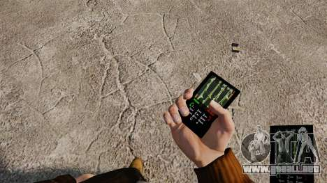 Temas de Rock gótico para su teléfono para GTA 4 segundos de pantalla