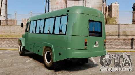 Kavz-3976 para GTA 4 Vista posterior izquierda