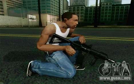 MK107 PDW para GTA San Andreas segunda pantalla