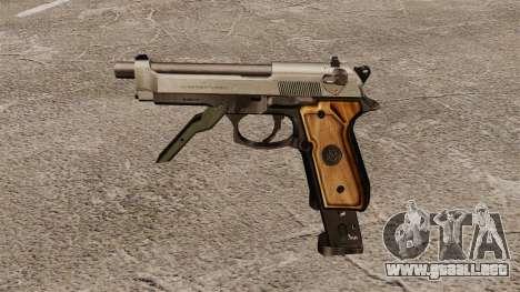 Auto Beretta M93R para GTA 4 tercera pantalla