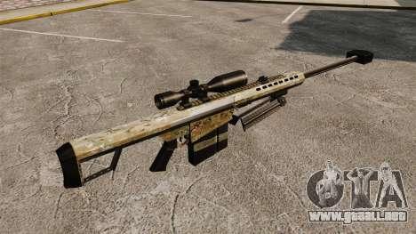 El francotirador Barrett M82 rifle v14 para GTA 4 segundos de pantalla