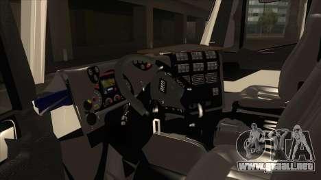 Hola-Land hormigonera camión Iveco para GTA San Andreas vista hacia atrás