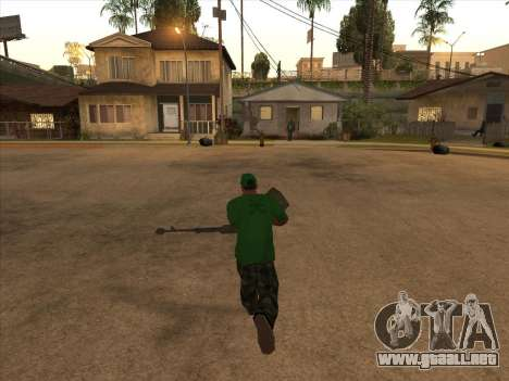 KORD para GTA San Andreas segunda pantalla