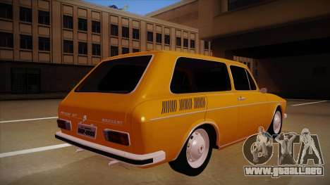 VW Variant 1972 para la visión correcta GTA San Andreas