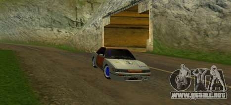 Nissan Silvia S13 MGDT para vista lateral GTA San Andreas