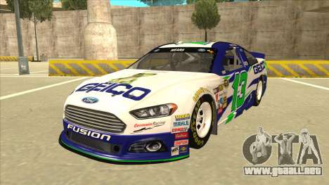 Ford Fusion NASCAR No. 13 GEICO para GTA San Andreas