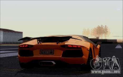 Lamborghini Aventador LP760-2 EU Plate para GTA San Andreas left