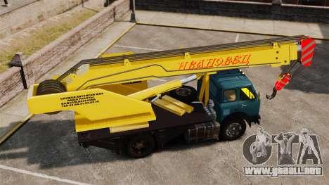 MAZ KS3577-4-1 Ivanovets para GTA 4 left